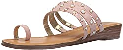 Blush Rose Tori Slide Flat Sandal