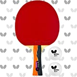 Butterfly Nakama S-1 Table Tennis Racket – Professional ITTF Approved Ping Pong Paddle – Sriver...