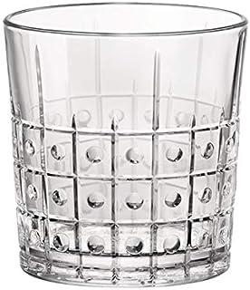 Bormioli Rocco 666225 Este Whiskyglas, 300ml, Glas, transparent, 6 Stück