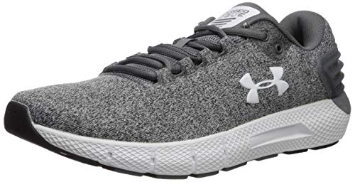 Under Armour Men's Charged Rogue Twist Running Shoe, Graphite (100)/Black, 7.5