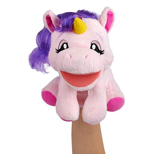 Wow Wee Marioneta de Peluche Alive de Mano con Sonido Unicornio (WowWee 9922)
