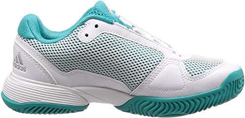 Adidas Barricade Club Xj, Zapatillas de Tenis Unisex niño, Multicolor (Multicolor 000), 34 EU