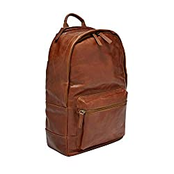 Fossil Leather Estate Backpack