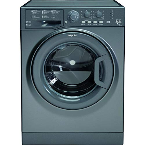 HOTPOINT FDL 9640 G Washer Dryer - Graphite