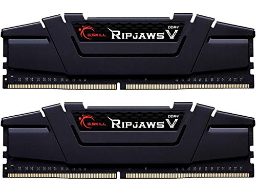 G.SKILL 32GB (2 x 16GB) Ripjaws V Series DDR4 PC4-28800 3600 MHz 288-Pin Desktop Memory Model F4-3600C18D-32GVK