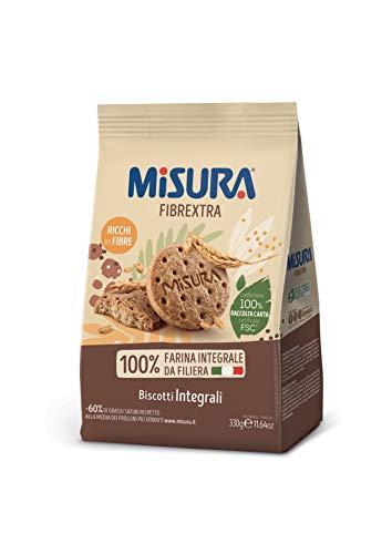 Misura Biscotti Integrali Fibrextra, 330g