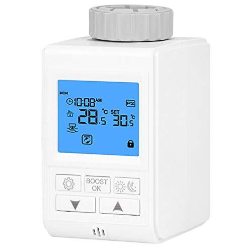 Válvula termostática de calefacción Control de temperatura Grifo inteligente apto para Tuya Gateway Hub(Zigbee Type)