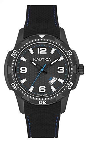 Nautica Reloj Analógico para Hombre de Cuarzo con Correa en Silicona NAI13511G