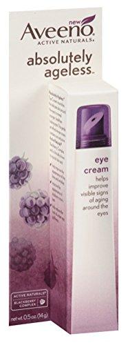 Aveeno Absolutely Ageless Eye Cream 0.5 Ounce (14ml) (6 Pack)