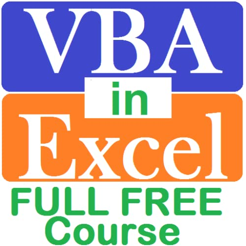 learn VBA in Excel free course