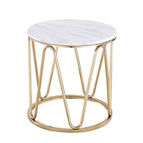 Carl Artbay Home & Selected Furniture / La Gold RVS sofa salontafel woonkamer marmer klein ronde tafel slaapkamer nachtkastje 21,6