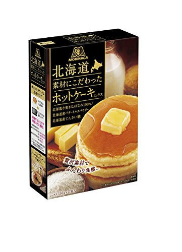森永製菓 北海道素材にこだわったホットケーキミックス 300g×5個