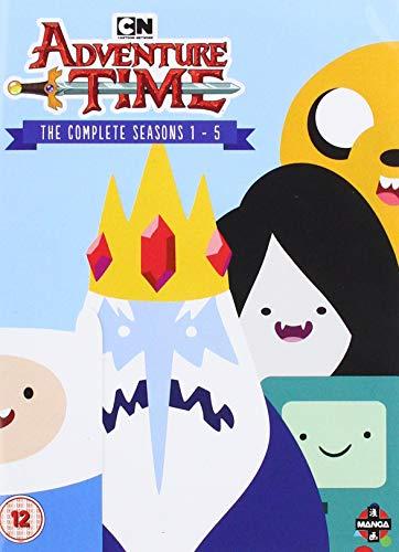 Adventure Time - Complete Seasons 1-5 (12 Dvd) [Edizione: Regno Unito]