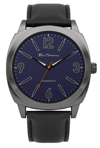 BEN SHERMAN BS044 - Orologio da polso uomo, plastica, colore: nero