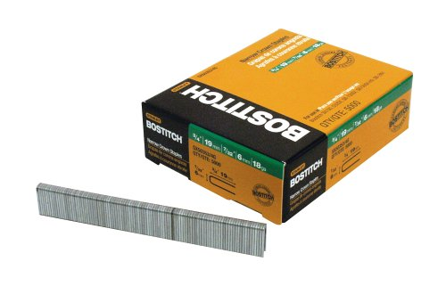 BOSTITCH Finish Staples, Crown, 5000-Pack (SX50353/4G)