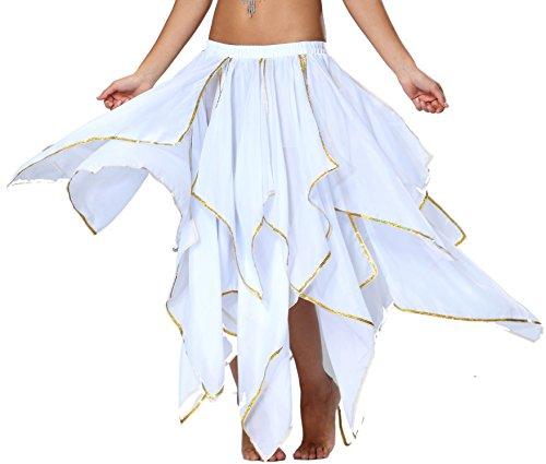 Seawhisper Renaissance Corset Skirt Costumes Women Halloween Costume White