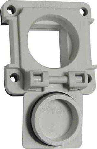 Unbekannt Metz Connect Buchsenklappe 1309413003-E LGR E-DAT ind.8(8) IP67 Kommunikationsanschlussdose Kupfer Industrie 4250184106531