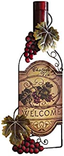 Accents Depot Vineyard Wine Bottle Kitchen Wall Art