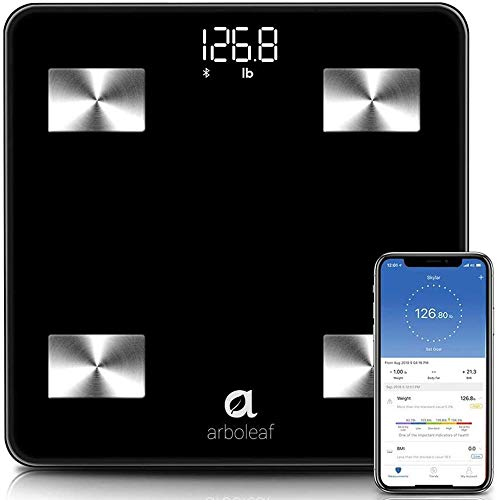 Arboleaf Weight Scale - Smart Scale Bluetooth Body Fat Scale Wireless...