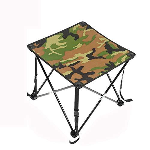 Table de Camping Pliante extérieure/Table en Fer léger/Table Portable/Table Pliante légère (pour Camping, Plein air, Barbecue, pêche)