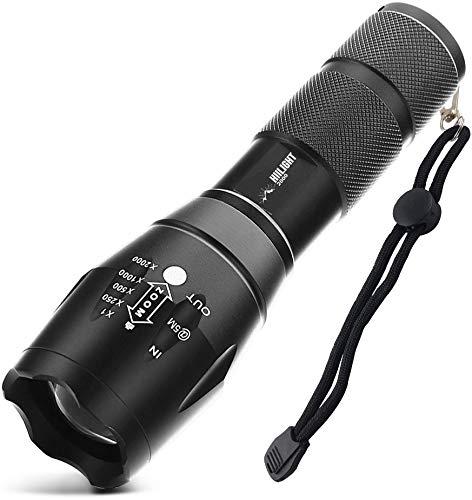 HIILIGHT hi-led-t6-2000 LED-Taschenlampe