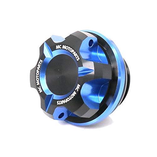 MC MOTOPARTS T-Axis Blue CNC Oil Filler Cap For Honda CB500 X F CB300R Integra 700 CB600F HORNET CB1000R CBF 600 1000