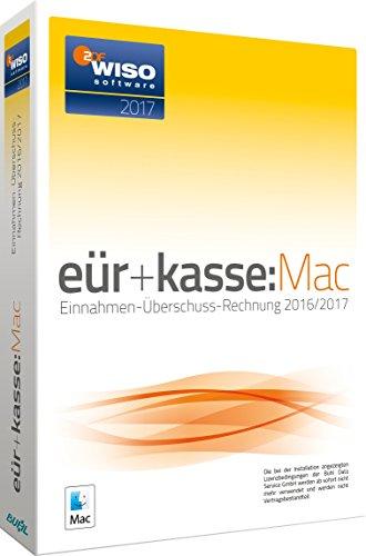 WISO eür+kasse:Mac 2017: Die Einnahmen-Überschuss-Rechnung 2016/2017. Inklusive Gewerbe- und Umsatzsteuer-Erklärung