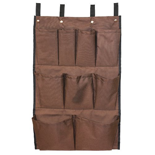 American Supply 9 Super beauty product restock quality top Detroit Mall Pockets Caddy Brown Bag Cart