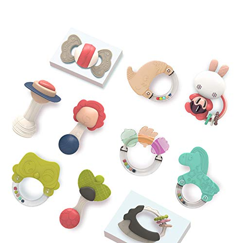 Why Choose Baby Silicone Molar Kit, 0-1 Year Old Newborn Baby Early Education Puzzle Toothpaste Toys...