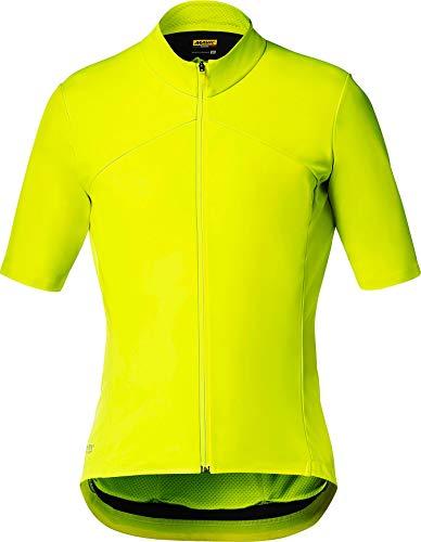 MAVIC Mistral SL Trikot Herren Safety Yellow Größe XL 2020 Radtrikot kurzärmlig