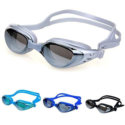 MMI-LX 2pcs Anti-Niebla Espejo Gafas de natación de Silicona Sello Gafas de natación Buceo Gafas de protección UV Anti-astillado Impermeable (Color : 2)