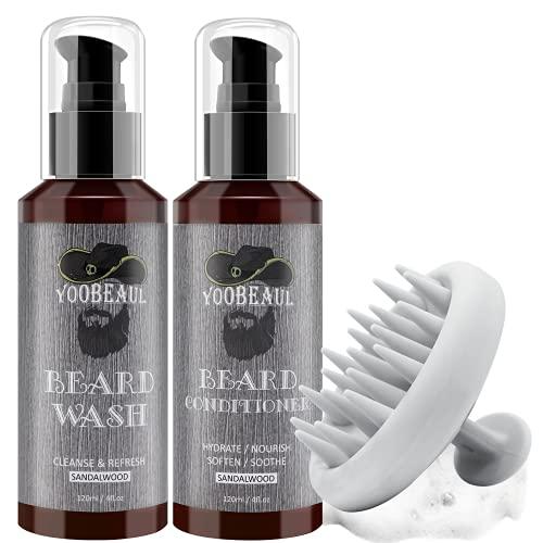 Ultimate Beard Care Conditioner Kit – Beard Grooming Kit, Increase Gloss, Hydration, Shine, Reduce Beard Itchy, Dandruff…