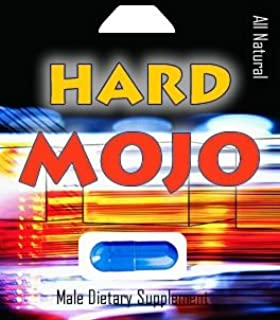 Hard Mojo- All Natural Male Supplement, Each Capsule Lasts 3 Days, Guaranteed, Safe with All Drugs