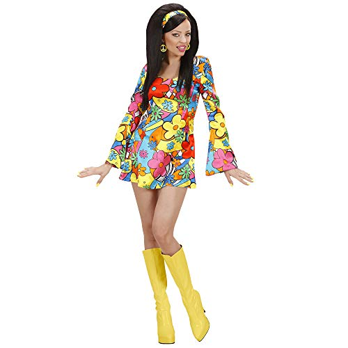 Widmann 73951 - Costume 'Flower Power Girl', Taglia S