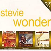 Stevie Wonder: 3 CD - Fulfillingness' first finale / Talking book / Innervisions