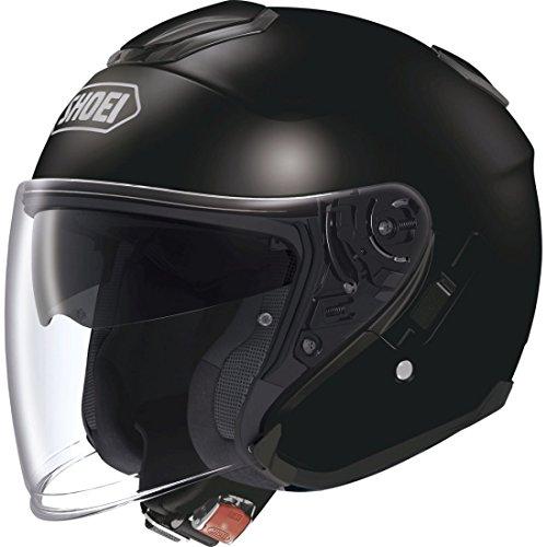 SHOEI J-CRUISE BLACK OPEN FACE MOTORCYCLE HELMET new XS
