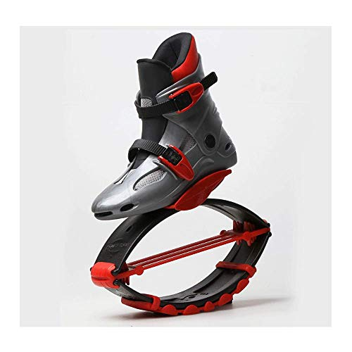 HaoLin Deportes Zapatos De Fitness Saltar Zapatos De Tonificación Zapatilla De Deporte De Cuña Zapatos De Salto Zapatillas De Adelgazamiento Que Dan Forma Al Cuerpo Que Rebotan,Red-L