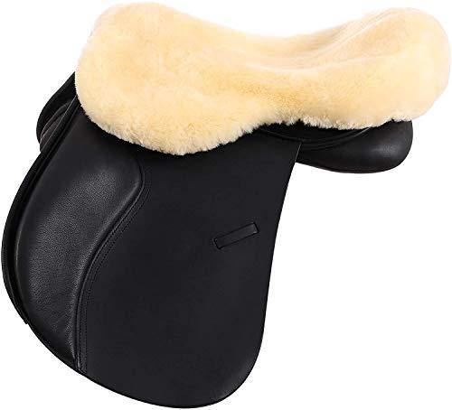 Merauno Funda de asiento de piel de oveja merina inglesa (L)