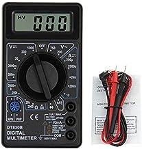 /30/V LED Screen Mini Digital Voltage Circuit Tester Meter Electronic Parts Accessories Digital Volt/ímetro talla /única rojo yalatan Digital Volt/ímetro//amper/ímetro 0.28/Inch 3,5/