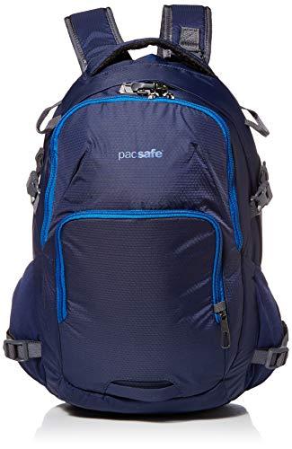Pacsafe Venturesafe G3 28 Liter Rucksack, Anti-Diebstahl Technik, 100D Nylon Diamond Ripstop, Daypack, Wanderrucksack, Reisegepäck mit Sicherheitstechnologie, 28 Liter, Blau / Lakeside Blue