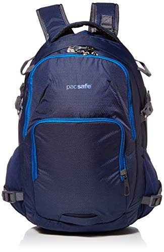 PacSafe Venturesafe G3 28 Liter Anti Theft Travel Backpack/Daypack-Fits 17' Laptop, Lakeside Blue