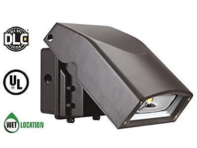 TriGlow LED Adjustable Wall Pack, 5000K (Daylight White), UL DLC