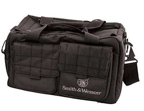 Smith & Wesson Gear Recruit Tactical Range Bag con Materiale Resistente alle intemperie per Pistola Shooting Ammo Accessori e Caccia