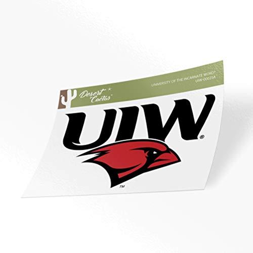 University of The Incarnate Word UIW Cardinals Vinyl Decal Laptop Water Bottle Car Scrapbook (Sticker - 00025A)