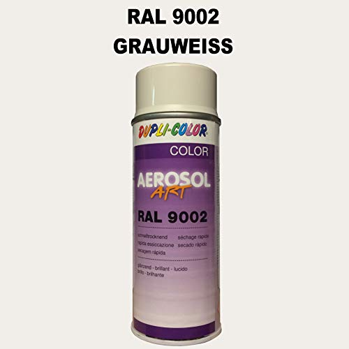Dupli-Color 722684 Aerosol Art RAL 9002 glänzend 400 ml