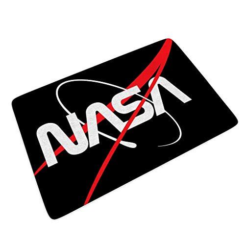YxueSond deurmat voor binnen vloerbedekking NASA deurmatten voor garage 45x70cm tapijt