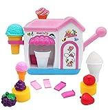 AugToy BathToysfor Toddlers FoamMakerBathtub IceCream Bubble PretendCakePlaySet Tub Water Bathtime Toys GiftforGirlsBoys KidsAge345 YearsOld