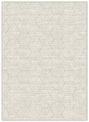 RUGGABLE Machine Washable Area Rug Distressed Geometric Natural 2 Piece Patented Rug System product image