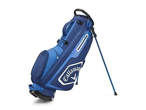 Callaway Golf Chev C Standbag 2020, Unisex, 2020 Callaway Chev C Stand Bag Navy/Royal, 5120067, Marineblau / Königsblau, Einheitsgröße