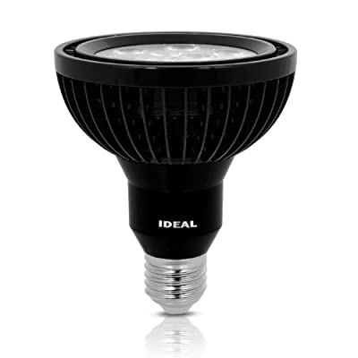 Ideal B3DBCGA CREE XBD Reveal Warm 80-Degree Beam Bi Volt Dimmable 13-watt Br30 Indoor Wide Flood Led Light Bulb, White